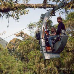 Adrian Warren And Neil Rettig,filming IMAX Mountain Gorilla
