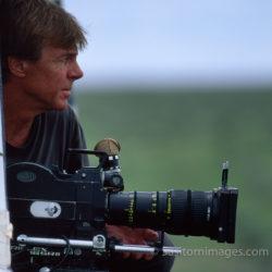Adrian Warren Filming, Etosha National Park, Namibia