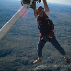 Adrian Warren Skydiving, Etosha National Park, Namibia