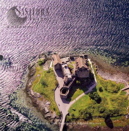 Eilean Donan Castle, Island Of Donan,  Loch Duich, Western Highlands, Scotland