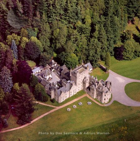 Invercauld House, Braemar, Cairngorms, Scotland