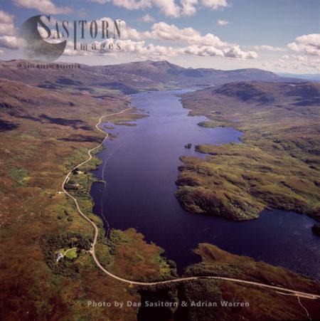 Loch Assynt, Freshwater Loch In Sutherlandshire, Highlands