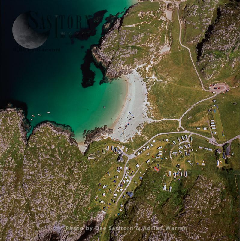 Achmelvich & Beach, West Coast Mainland, Highlands, Scotland
