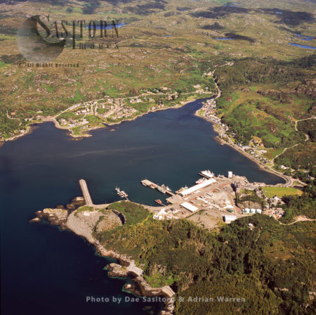 Lochinver, A Village On The Coast In The Assynt District Of Sutherland, Highlands