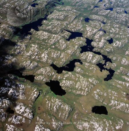 Freshwater Lochs, Near Laxford Bridge, Highlands, Scotland