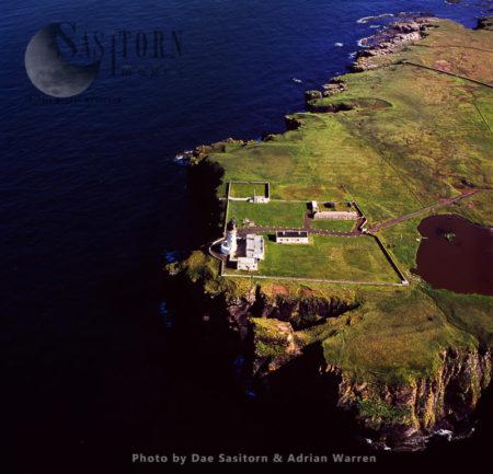 Noss Head Lighthouse, Near Wick, Caithness, Scotland