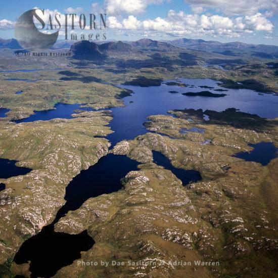 Freshwater Lochs, Suilven, Northwest Of Sutherland, Highlands