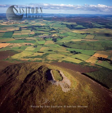 Tap O'Noth Hillfort, Aberdeenshire, Highlands