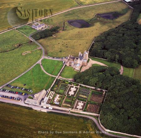 The Castle Of Mey (Barrogill Castle), Caithness, Highlands, Scotland