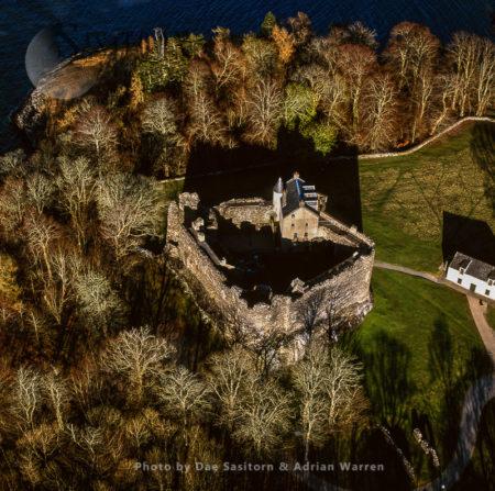 Dunstaffnage Castle, Island Of Kerrera, Near Oban, Argyll & Bute, Highlands, Scotland
