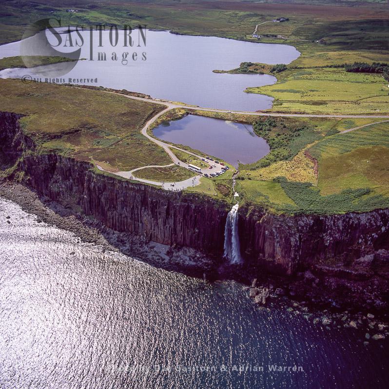 Kilt Rock Waterfall – Isle Of Skye, Inner Hebrides, Scotland