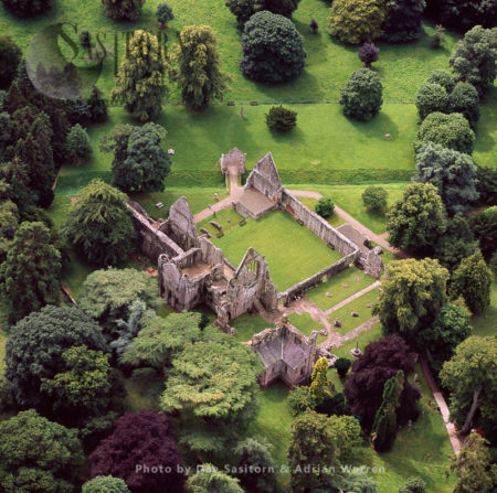 Dryburgh Abbey, On The Banks Of The River Tweed, Scotland