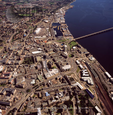 Dundee, On The North Bank Of River Tay's Estuary, Lowlands, Scotland