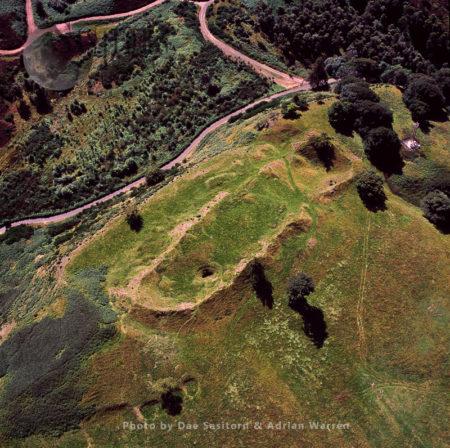 Finavon Hill Fort, Vitrified Fort, Angus,  Scotland