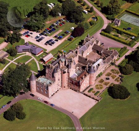 Glamis Castle, Village Of Glamis, Angus,  Scotland