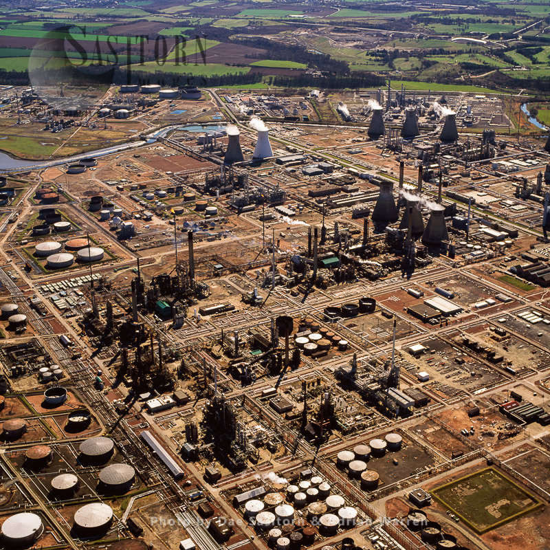 Grangemouth Oil Refinery, Scotland