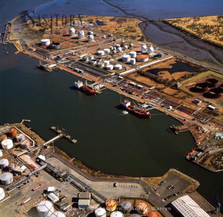 Grangemouth Oil Refinery, Grangemouth Docks, Scotland