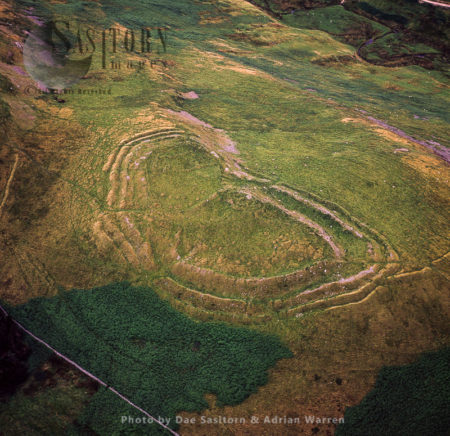 The Castles, An Iron Age Hill Fort And Settlement, Sourhope, Scottish Borders