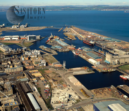 Leith Docks, Firth Of Forth, Lowlands
