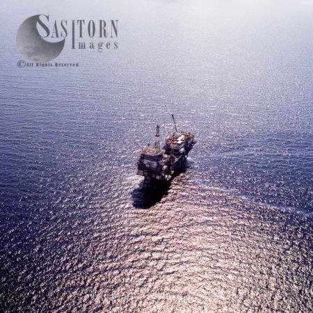 Beatrice Oil Platform (oil Rig), North Sea, Lowlands, Scotland