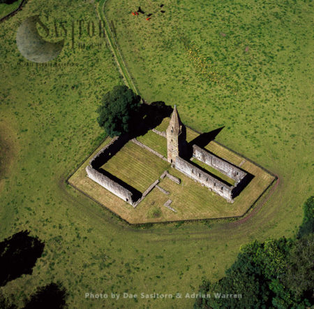 Restenneth Priory Was A Monastic House Of Augustinian Canons, Angus, Lowlands, Scotland