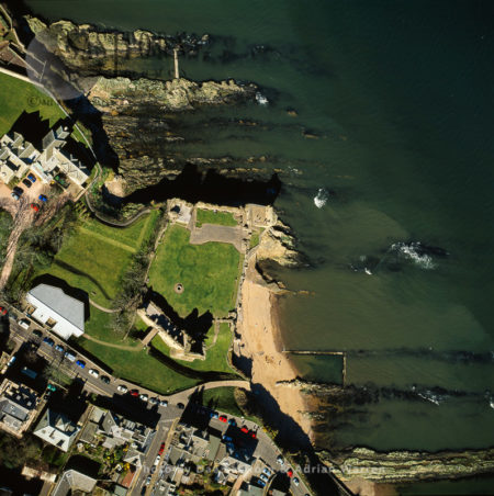 St Andrews Cathedral And Former Royal Burgh On The East Coast Of Fife