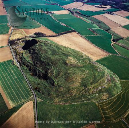 Traprain Law Hill Fort, East Of Haddington In East Lothian
