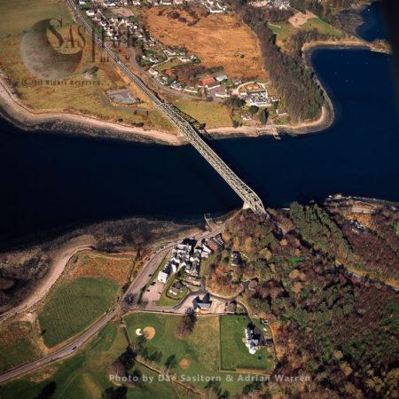 Bridge Over Loch Leven At North Ballachulish, Scotland