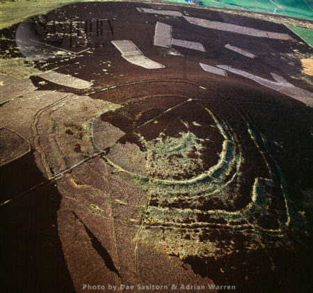 Brown Caterthun, Stone Fort Or Dun, Angus, Scotland