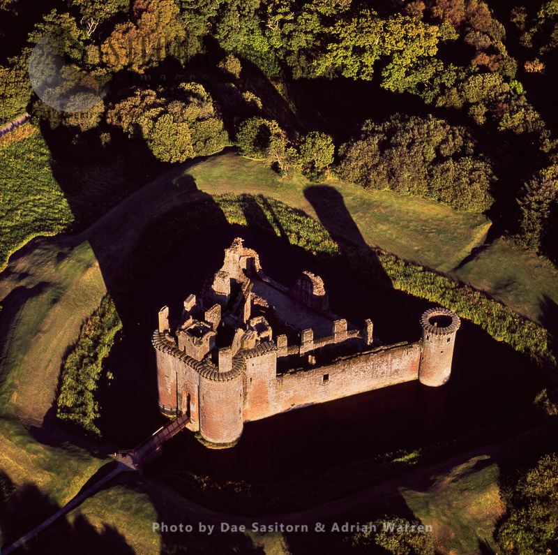 Caerlaverock Castle, On Solway Firth, Near Dumfries, Scotland