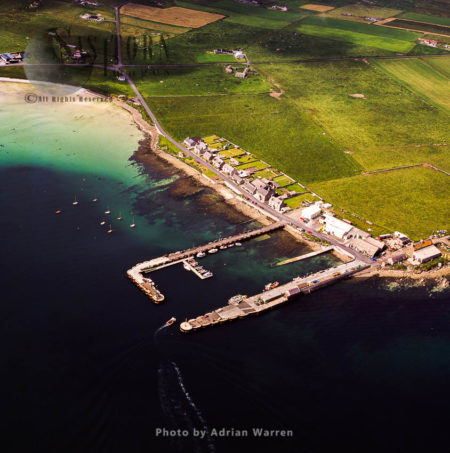 Gill Pier, Gill, Pierowall Ferry Terminal To Papa Westray, Orkney