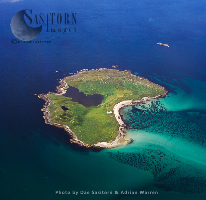 Boreray, an island in the Outer Hebrides, West Coast Scotland
