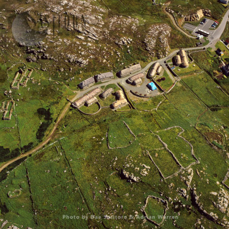 Gearrannan Blackhouse Village, West Side Of The Isle Of Lewis, Outer Hebrides, Scotland