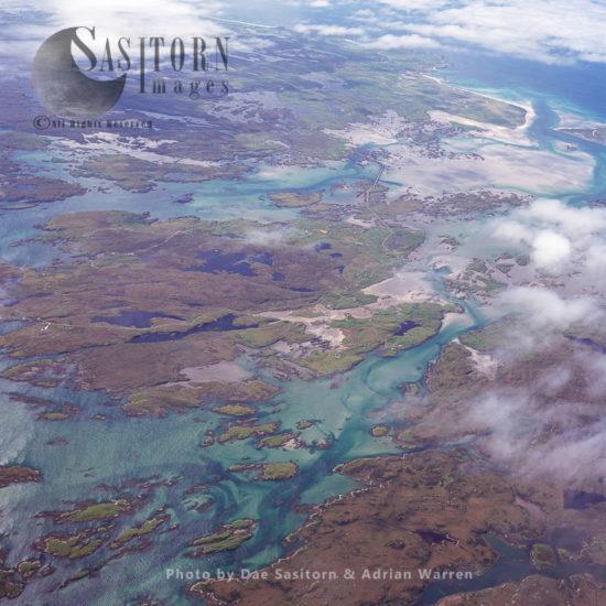 North Uist Landscape, Outer Hebrides, Scotland