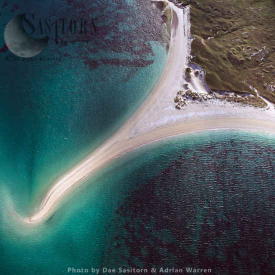 Sandbar West Of Taransay, Near South Harris, Outer Hebrides