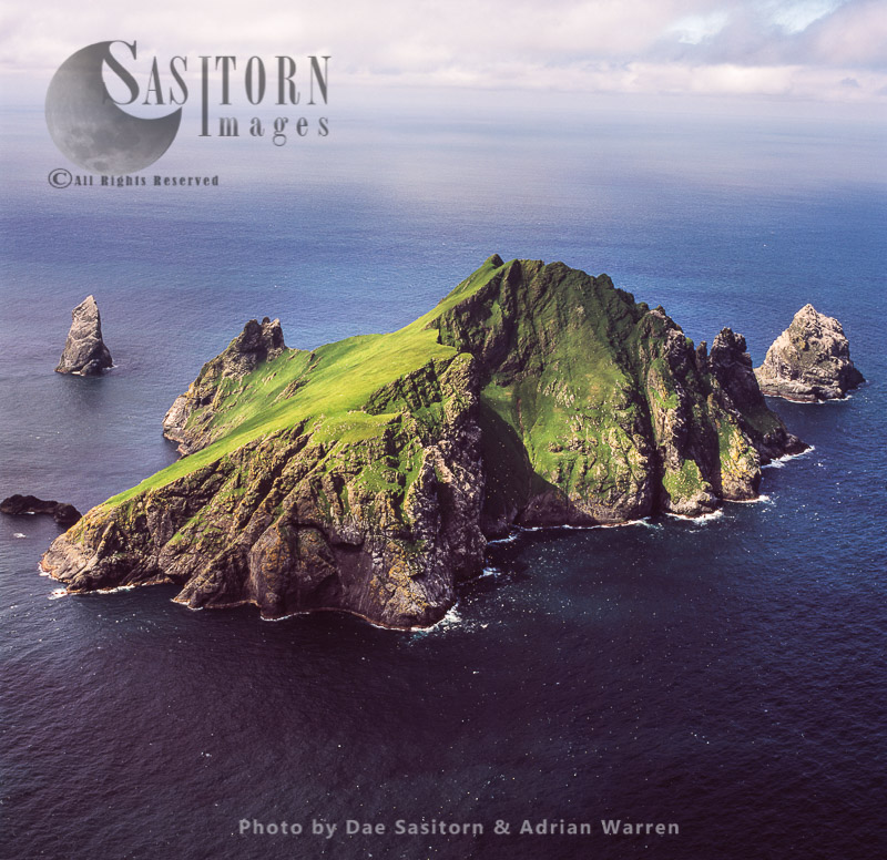 Boreray, An Uninhabited Island In The St Kilda Archipelago, Outer Hebrides