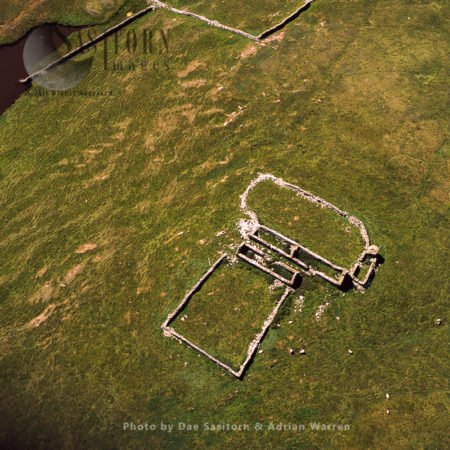 Abandoned Farmstead, Mousa, Shetland Islands, Scotland