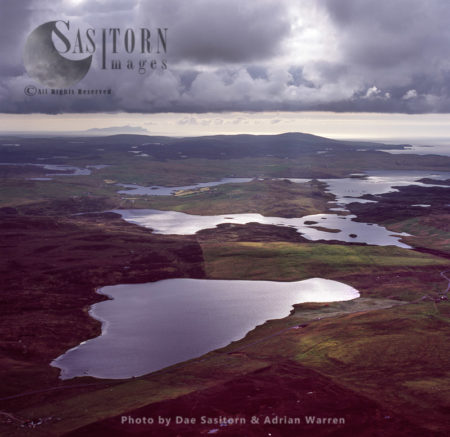 From Loch Of Aithsness Looking West, Near Braewick, Shetland