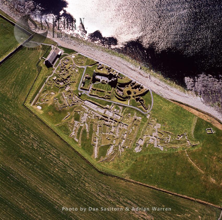 Jarlshof, Prehistoric Archaeological Site, Shetland Islands