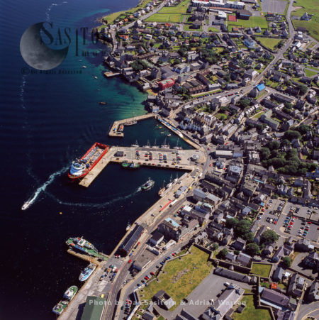Lerwick, The Only Burgh And Main Port Of The Shetland, Scotland