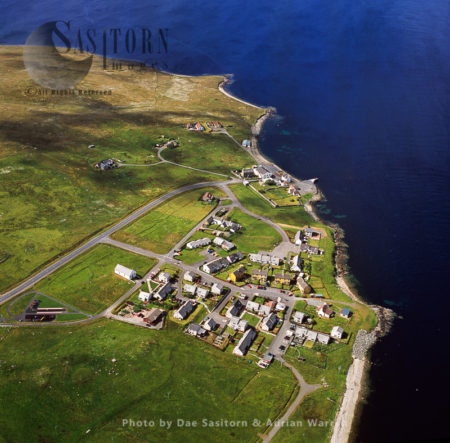 Mossbank, Village In The North East Of The Mainland Of Shetland
