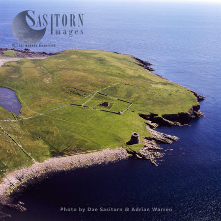 Broch Of Mousa, The Tallest Still Standing Broch In The World, Island Of Mousa, Shetland Islands