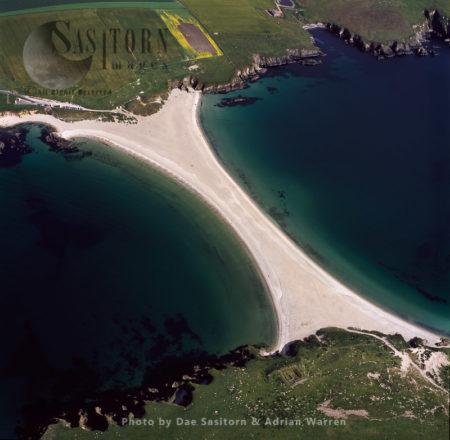 St Ninians Tombola, Connects St Ninian's Isle To Shetland Mainland