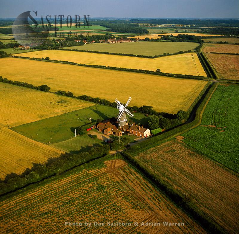 Working Mill At Bircham Windmill, Great Bircham, Norfolk