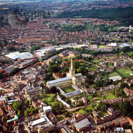 Norwich Cathedral And Its City, Norwich, Norfolk