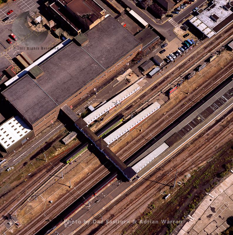 Peterborough Railway Station, Cambridgeshire