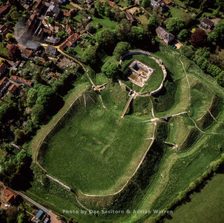 Castle Acre Castle, Motte-and-bailey Norman Castle,  Castle Acre, Norfolk