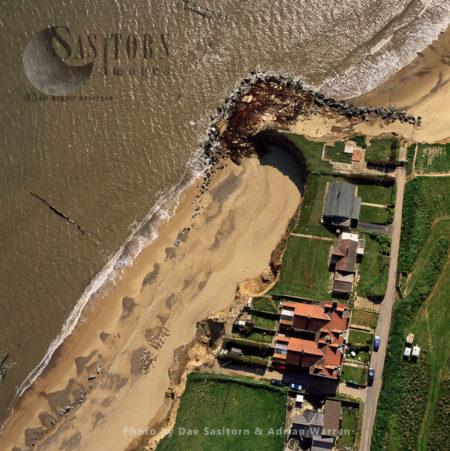 Coast Erosion At Happisburgh, Norfolk