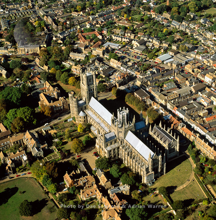 Ely Cathedral, The Cathedral Church Of The Holy And Undivided Trinity, Cambridgeshire