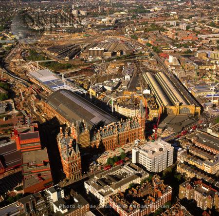 St Pancras Train And Underground Station, London